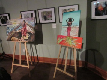 Paintings by artist Camille Lauren