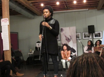 Spoken Word Artist La Rose