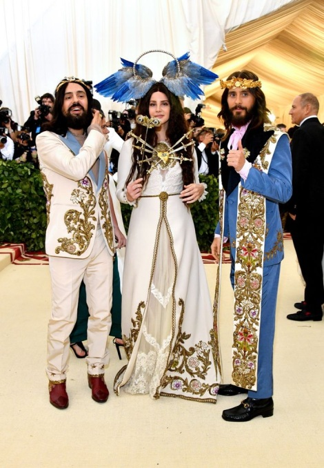 Jared Leto is on our list for the best dressed at the Met Gala 2018