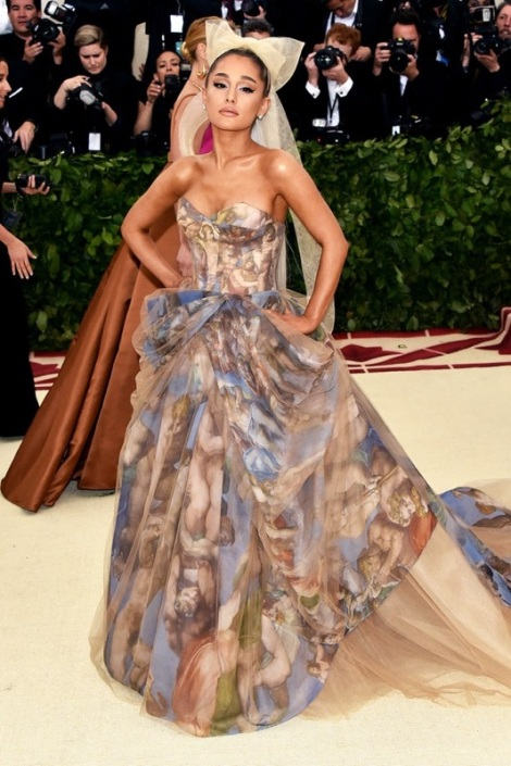Ariana Grande is on our list for the best dressed at the Met Gala 2018