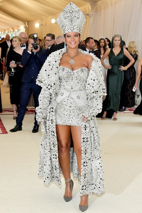 Rihanna is on our list for the best dressed at the Met Gala 2018