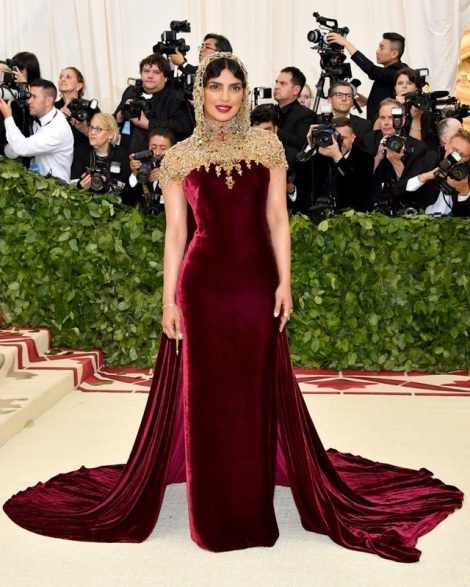 Priyanka Chopra is on our list for the best dressed at the Met Gala 2018
