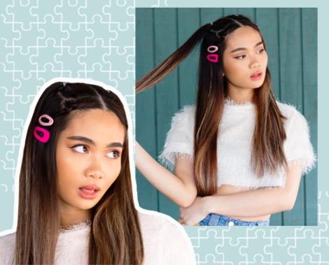 5 Creative Ways To Rock The Hair Clip Trend Verondre